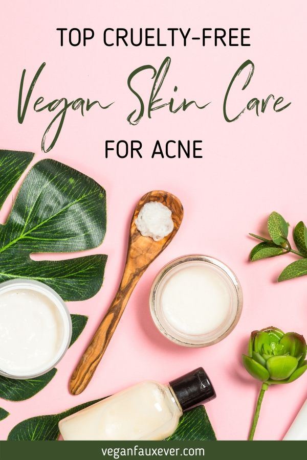 vegan skin care for acne