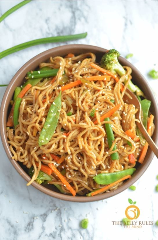 easy vegan chow mein recipe