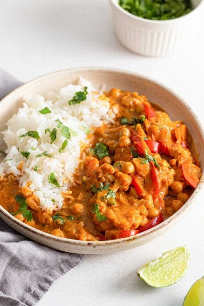easy vegan curry recipe