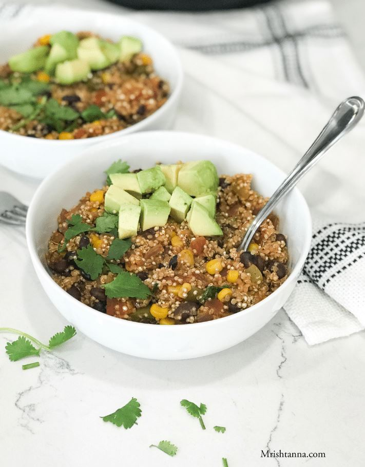 easy vegan quinoa recipe